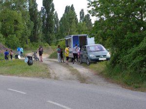 Foto G. Murín, Bufet na cyklotrase II