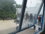 Prestrieľané okno