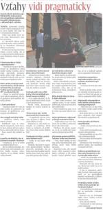 Rozhovor v MY Trenčianske noviny