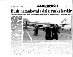 Bush a Putin, kamaráti